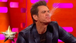 Jim Carrey & Tamsin Greig Impersonate A Pig & A Dog - The Graham Norton Show