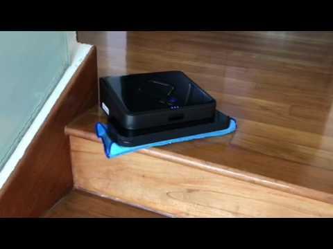Irobot Braava 380t Floor Mopping Robot Youtube