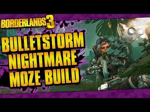 Borderlands 3 | Bulletstorm Nightmare Moze Build (Vladof Master!) |