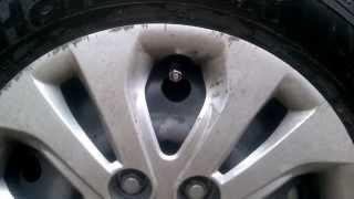Колпачки на колёсные ниппеля (мини обзор)