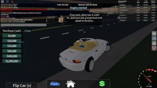 roblox accelerate money glitch need fast car but its ok if you dont have