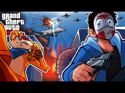GTA 5 - JOHN WICK AND MODDERS STARTED WW3!!!! (Funny Moments & Hackers)