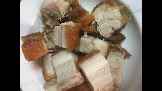 Lechon Kawali / Crispy Pork Belly || Chel Javier #16
