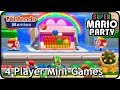 Super Mario Party - All Free-For-All Mini-Games / 4 players (2 Players, Very Hard)