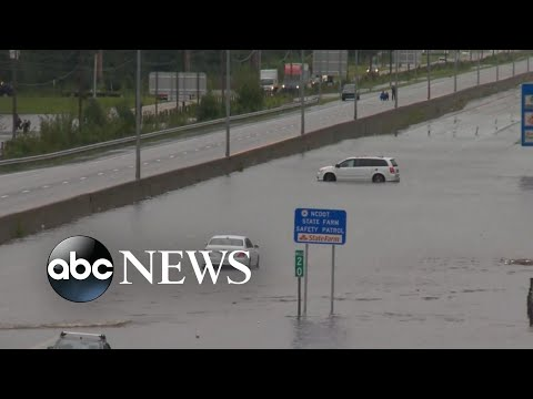 Florence cuts off towns and cities as water levels rise