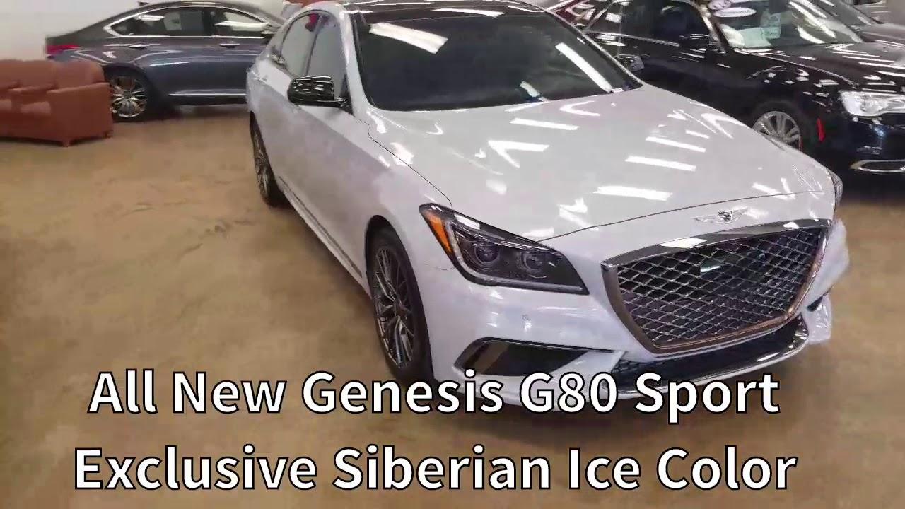 All New Genesis G80 Sport - Siberian Ice - YouTube