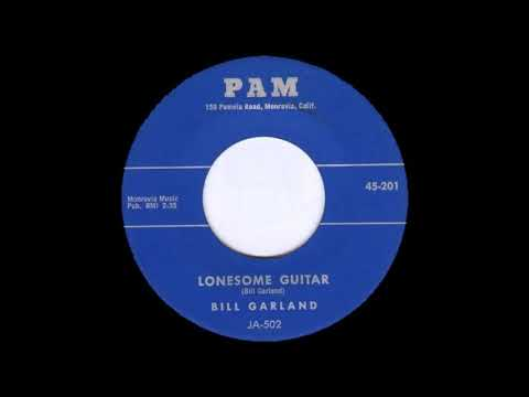 Bill Garland  Lonesome Guitar  PAM 201