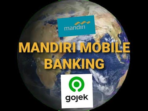 Cara Membeli Gopay Gojek Via Mandiri Online Banking Youtube