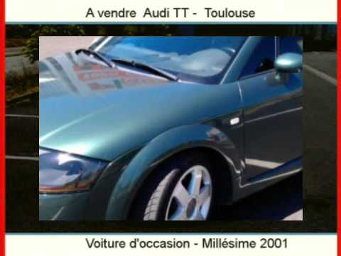 achat vente une voiture occasion audi tt toulouse haute garonne youtube. Black Bedroom Furniture Sets. Home Design Ideas