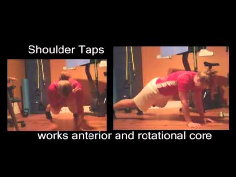 Ottawa Personal Trainer: Great Ab Exercise (shoulder taps)