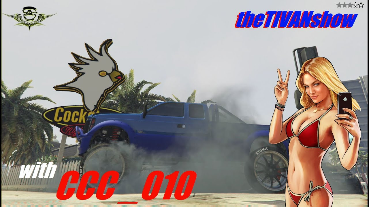 GTA5 - with CCC_010  - HOSTING - LETS RACE - PS4 - LIVE on YOUTUBE