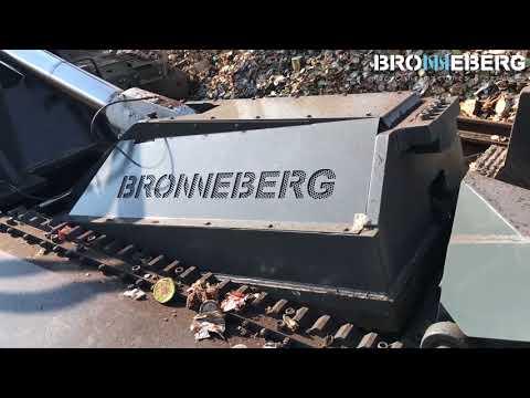 Bronneberg Super 3 Metal baler - Presse a paquets - Schrottpresse