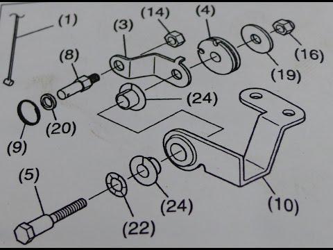 Remote Controle Kit Suzuki DF4 DF5 DF6