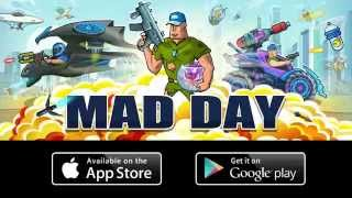 Mad Day Trailer - New iOS and Android game