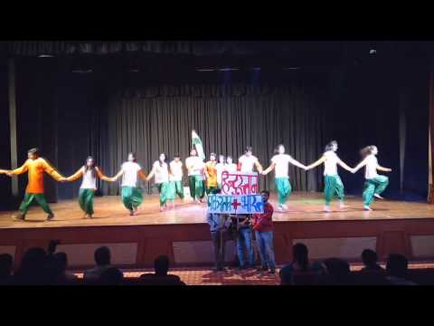 Patriotic dance 2nd runner up ims davv indore by pratik kushwah.