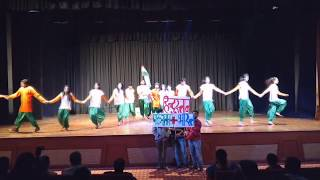 Patriotic dance 2nd runner up ims davv indore by pratik kushwah.
