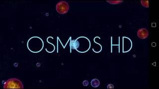 Osmos HD gameplay on mobile.