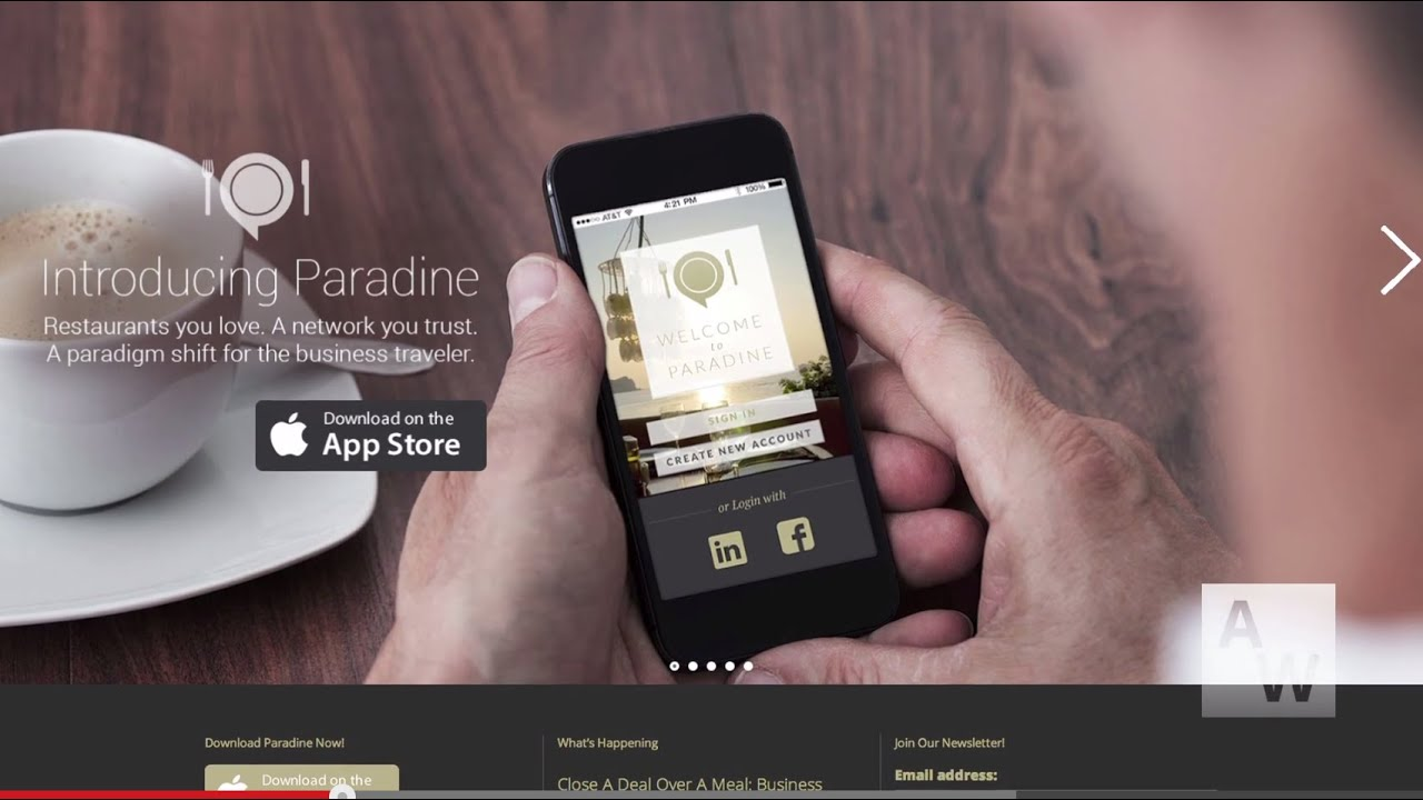 Download Paradine: Having Trouble Finding Your Perfect Restaurant? This App Can Help You Meet Your Match