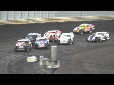 Shiverfest Sport Mod Heat 1 Lee County Speedway 10/25/14