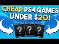 10 FANTASTIC and SUPER CHEAP PS4 Games Under $20
