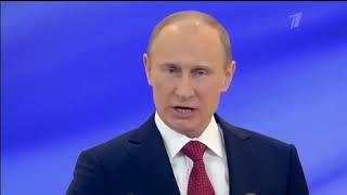 Все присяги Путина 2000-2018