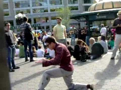 SUGALOO and Popping iLL Getting down at Union Square NYC!!
