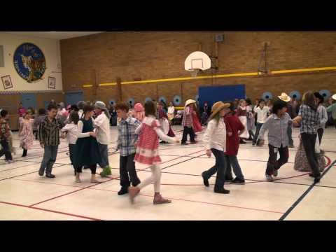 Terra Linda School 2011 Pioneer Day - Dance 4