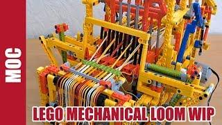 Lego Technic - Mechanical Loom Machine thumbnail