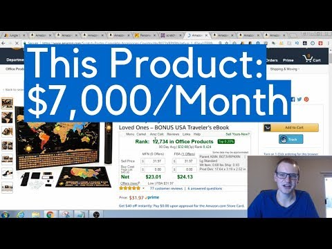 How I Find Products On Amazon That MAKE THOUSANDS a Month! Amazon FBA Product Research Method 2018!