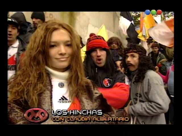 Los Hinchas, Claudia Albertario - Videomatch