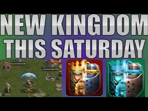NEW KINGDOM, START YOUR CASTLES (CLASH OF KINGS)