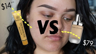 One of Makeup with Jah's most viewed videos: EXTREME COVERAGE Foundation for under $15!! Dermacol Makeup Cover First Impressions