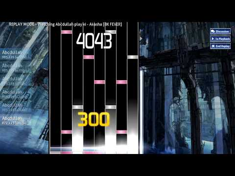 [osu!mania] xi - Akasha [8K FEVER] {Played by Abcdullah}