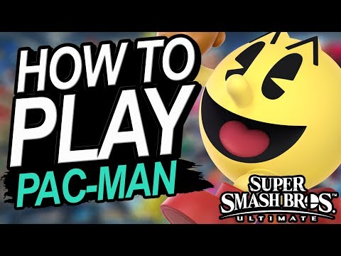 How To Play Pac Man In Smash Ultimate