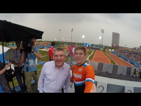 Trip to the Nanjing 2014 Youth Olympics