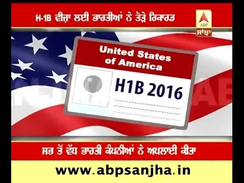 Indians break record to have H1B-VISA