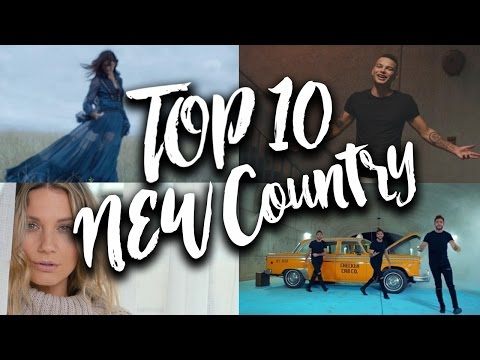 TOP 10 New Country Songs in November, December & January 2017