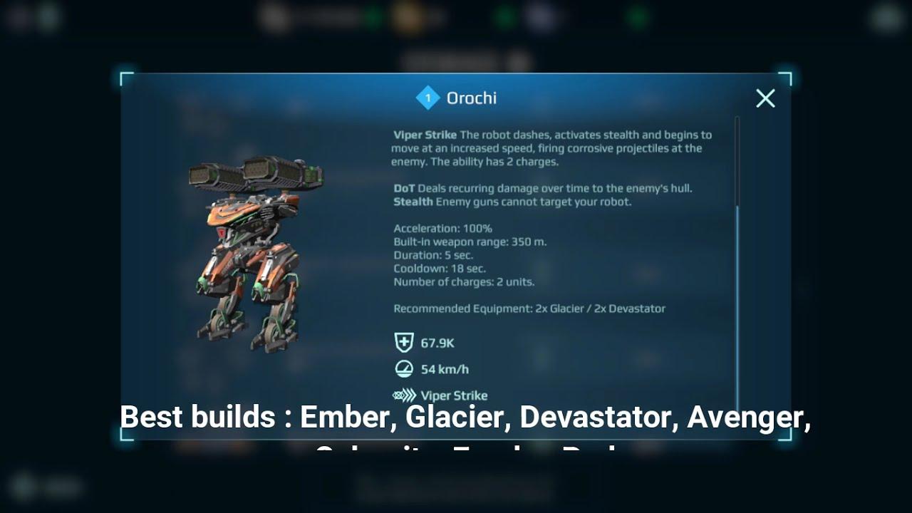 Download Top 3 BEST Robots In War Robots! ( +Best setups for Them )