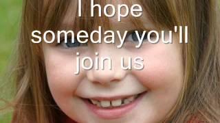 Connie Talbot Imagine english subtitles ( lyrics )