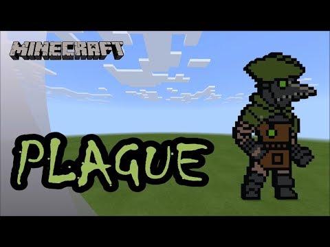 Minecraft: Pixel Art Tutorial and Showcase: Plague (Fortnite Battle Royale) thumbnail