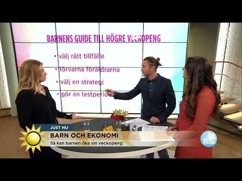 Så får du högre veckopeng - Nyhetsmorgon (TV4)