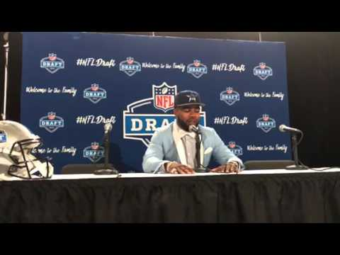 Ezekiel Elliot Dallas Cowboys 2016 NFL Draft 1st Round Pick Interview #NFLDraft