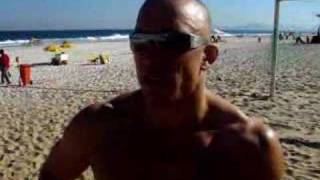 GSP Training For Jon Fitch In Brazil