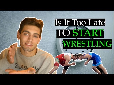 Is It Too Late To Start Wrestling? 🤼♂️