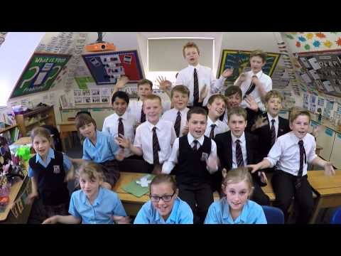 Junior School's version of Pharrell Williams' 'Happy'