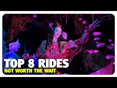 TOP 8 Walt Disney World Rides NOT Worth the Wait | Best and Worst | 01/24/18