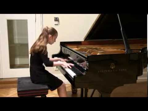 "Rachmaninoff Etude Tableau Op 39 No. 6 ""Little Red Riding Hood"""