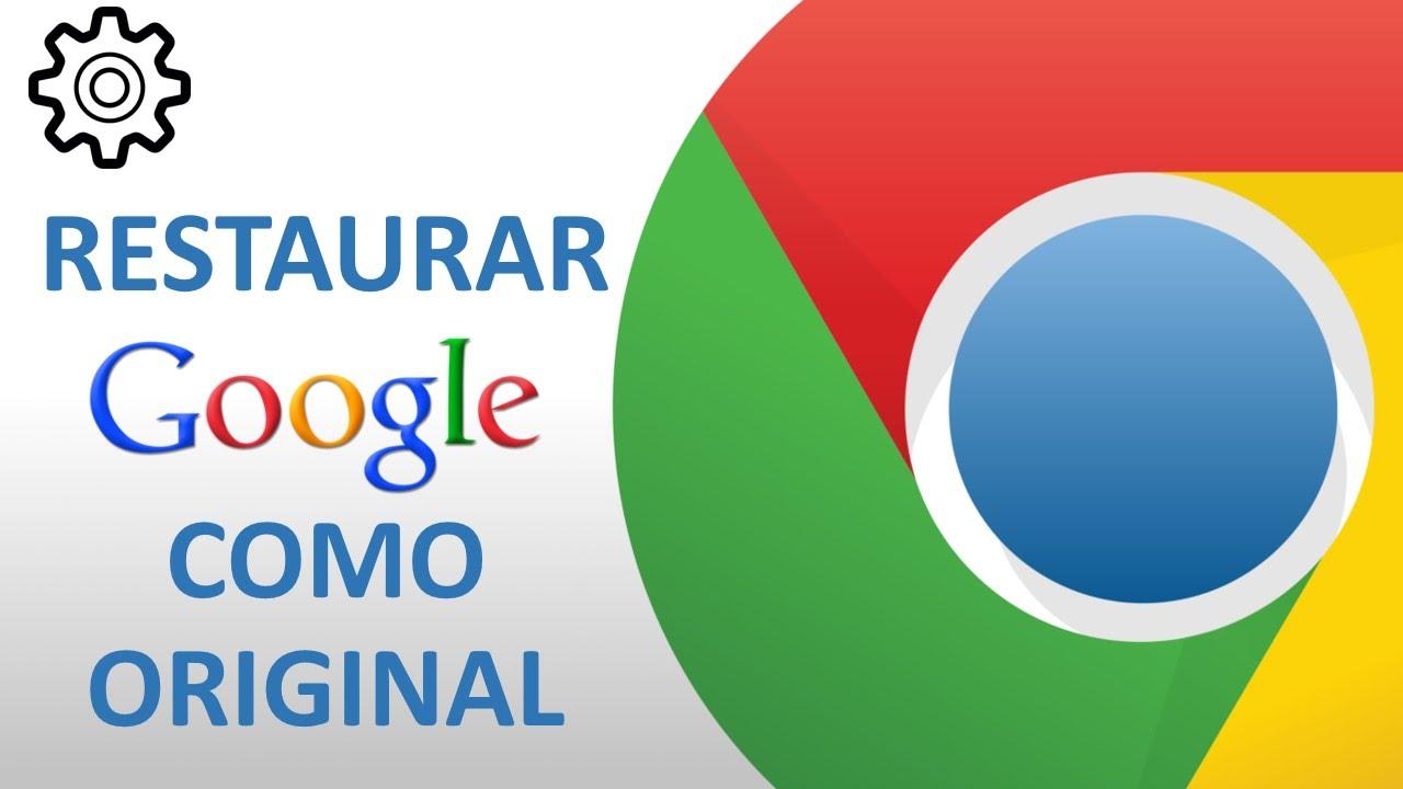 how to change google chrome to original