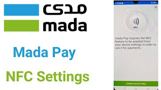 Mada Pay NFC Settings Option in Mobile | Mada Pay NFC Settings Kaise Karen | Mada Pay screenshot 1