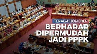 Tenaga Honorer Ngadu Ke Komisi X DPR Agar dimudahkan Jadi PPPK
